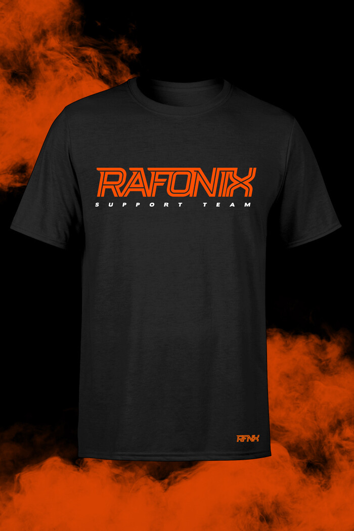 Czarna bluza custom Rafonix
